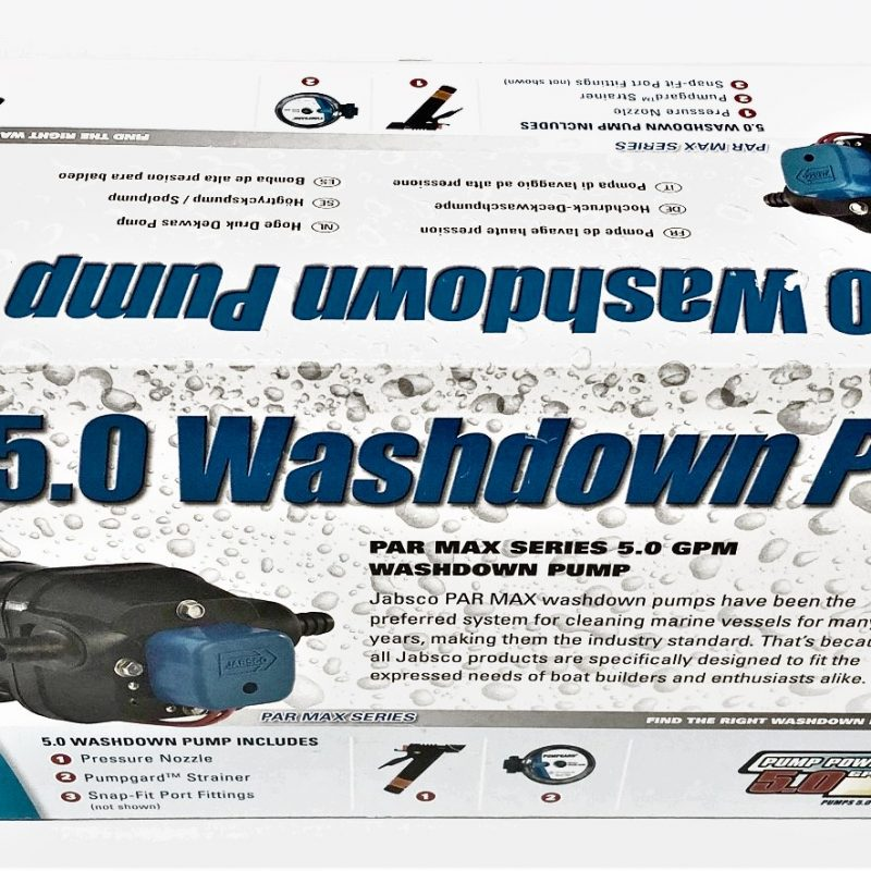 Jabsco 5.0 Washdown Pump Kit 32700-00394 24V