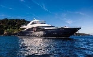 Princess 88 Luxury Superyacht for sale.