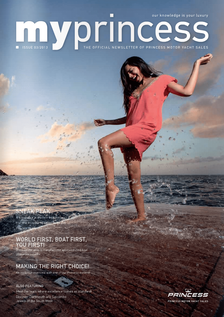 My Princess Cover 2013 - Princess Motor Yacht Sales