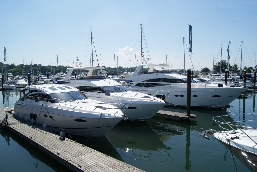 Swanwick Marina luxury yachts for sale UK