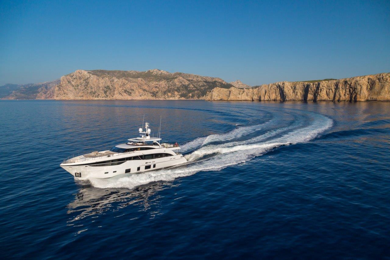 Princess 35M luxury superyacht