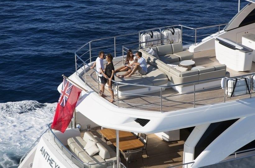The Princess 35M | Luxury Superyacht | Princess Motor ...
