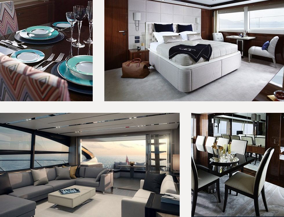 Your yacht interior by princess design studio for Interior design studio uk