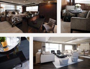 Princess Design Studio Luxury Yacht Interior Design