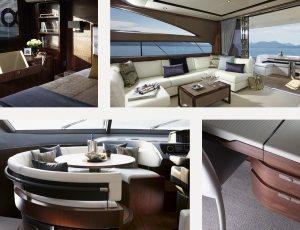 Princess Motor Yacht Interior Design by Princess Design Studio