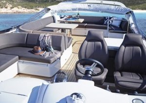 Princess 60 Flybridge Luxury Yacht Seating