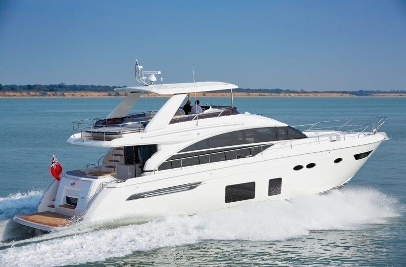 Princess 68 Flybridge Yacht Princess Motor Yacht Sales