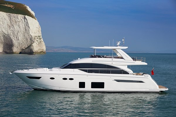 New princess 68 imagery released princess motor yacht sales Princess 68 motor yacht