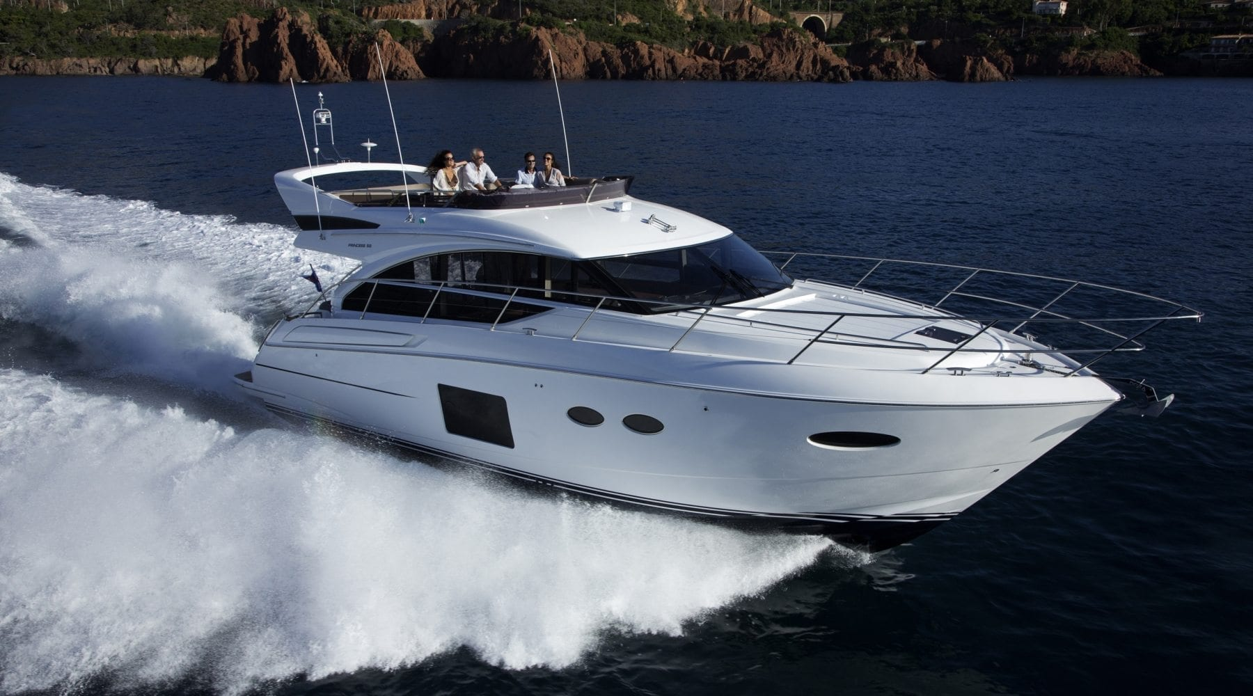 Princess 52 | Flybridge Yacht | Princess Motor Yacht Sales