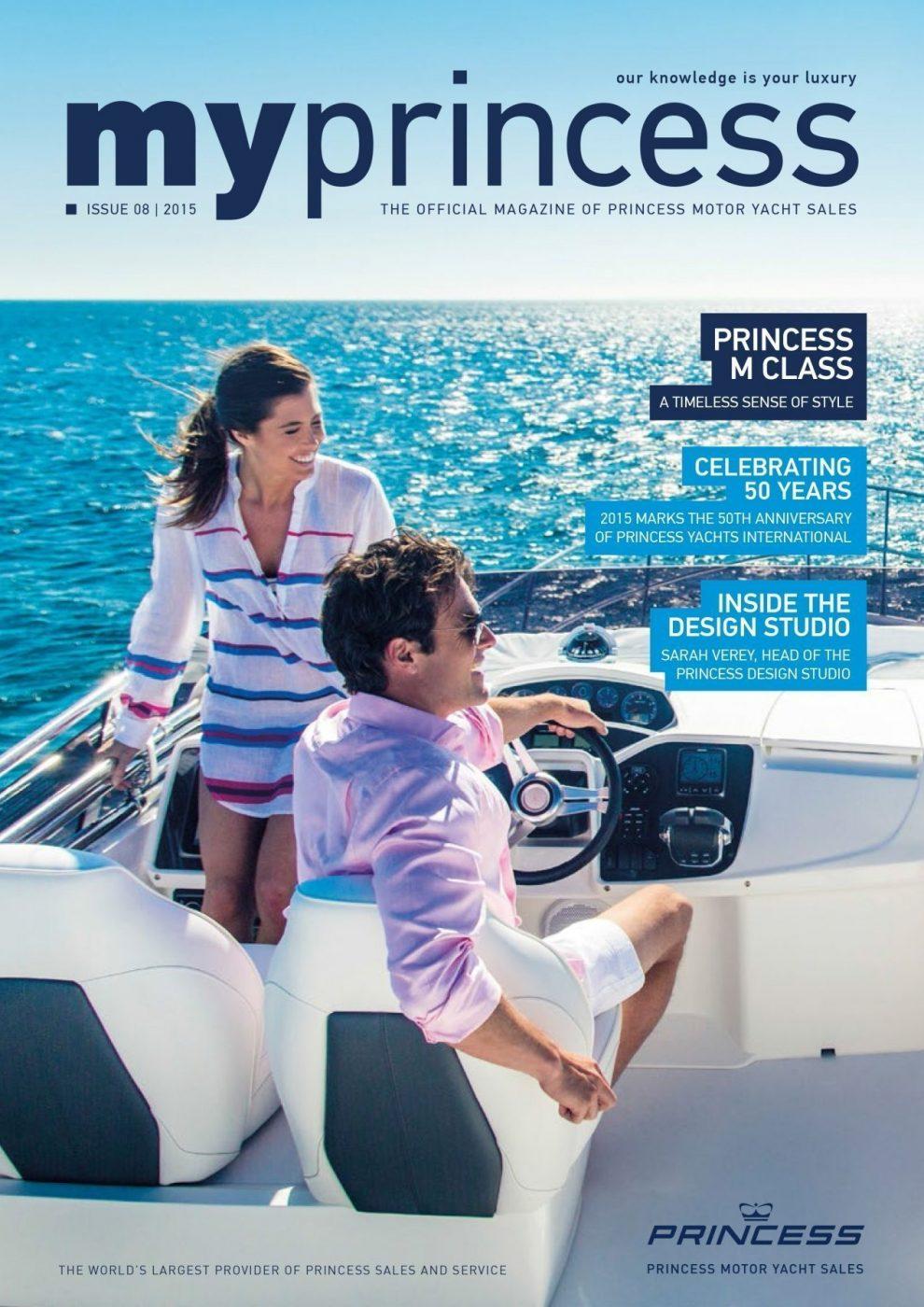 Princess Motor Yacht Sales - My Princess Cover 2015