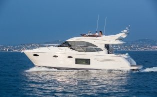Princess 49 Flybridge Motor Yacht with IPS Drive