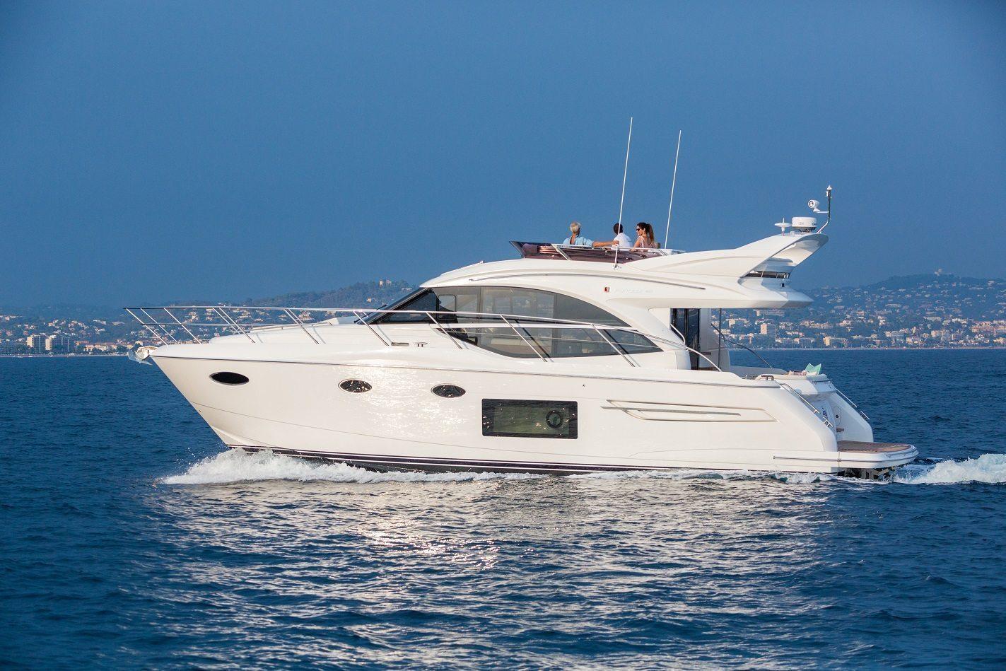 Princess 49 Flybridge Yacht Princess Motor Yacht Sales