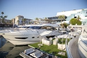 Princess Luxury Motor Yachts at Cannes.
