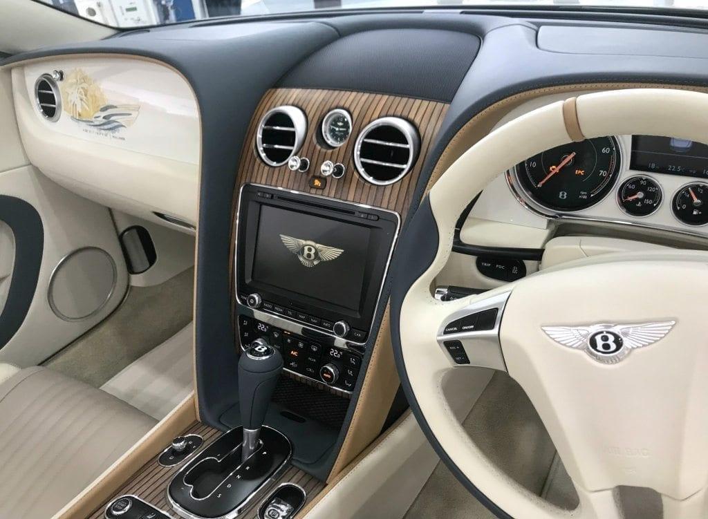 Princess Inspired Bentley Comes To Princess Motor Yacht Sales