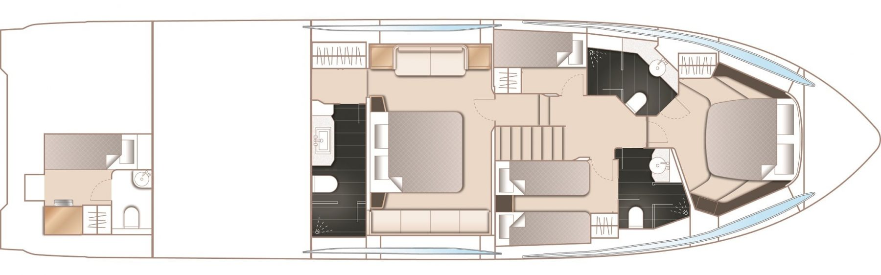 S65 Layout Lower Deck