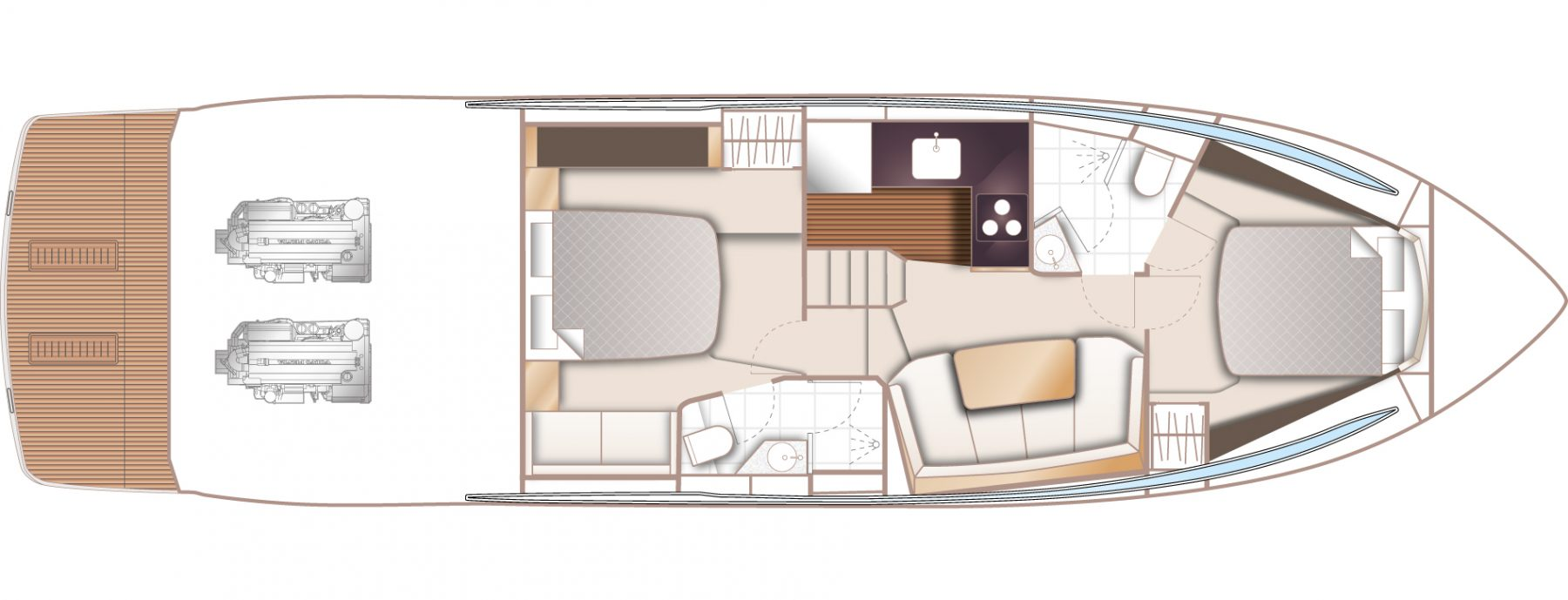 V50 Open Lower Deck