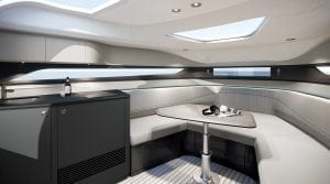 Princess R35 interior cabin