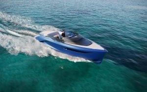 Princess R35 in Electric Blue