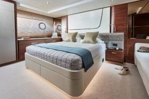 Princess F70 bedroom