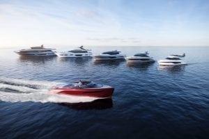 Princess motor yacht sales - six new models 2018