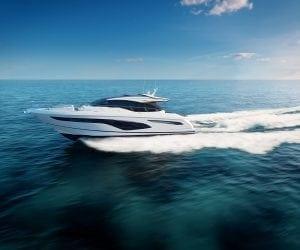 Princess v60 motor yacht