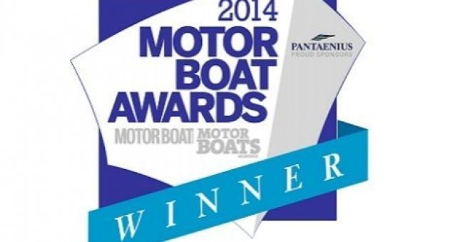 Princess 43 – winner of best flybridge under 55ft at Motorboat awards 2014