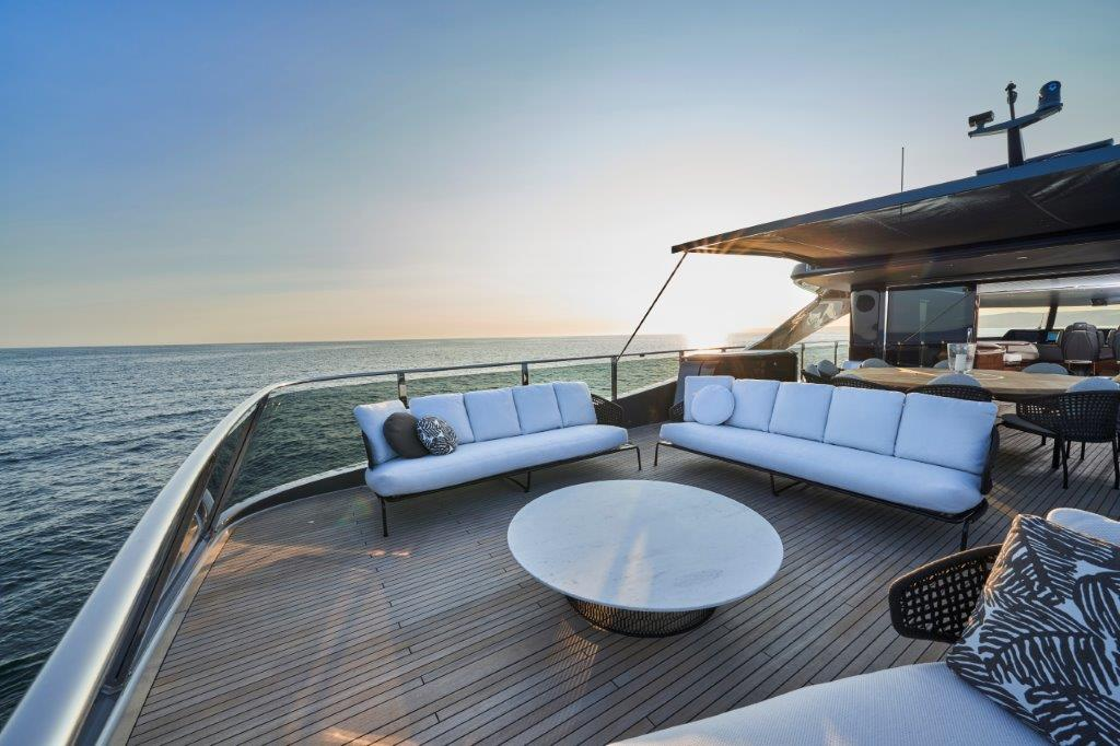 Princess X95 luxury yacht