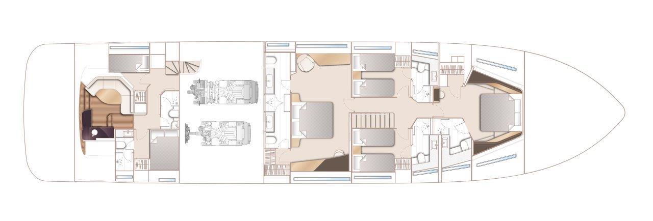 Lower Deck - Beach Club Option