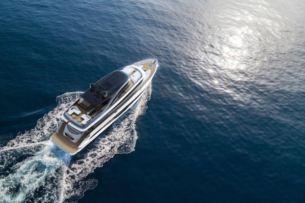 Princess X80 expedition yacht