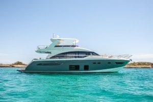 Princess 68 yacht share