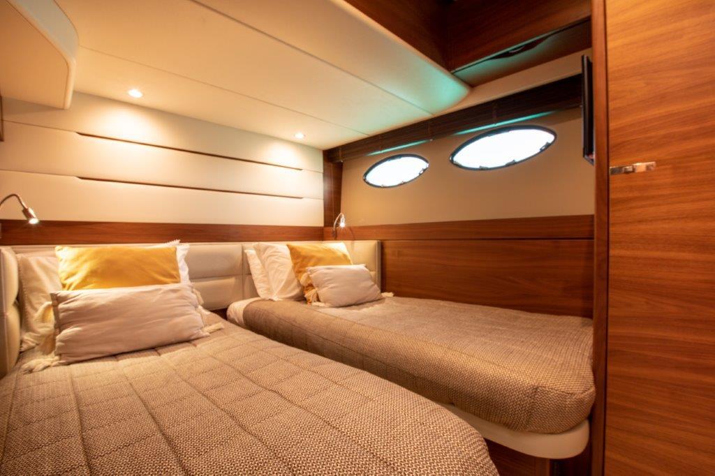 Princess 68 - twin cabin 1