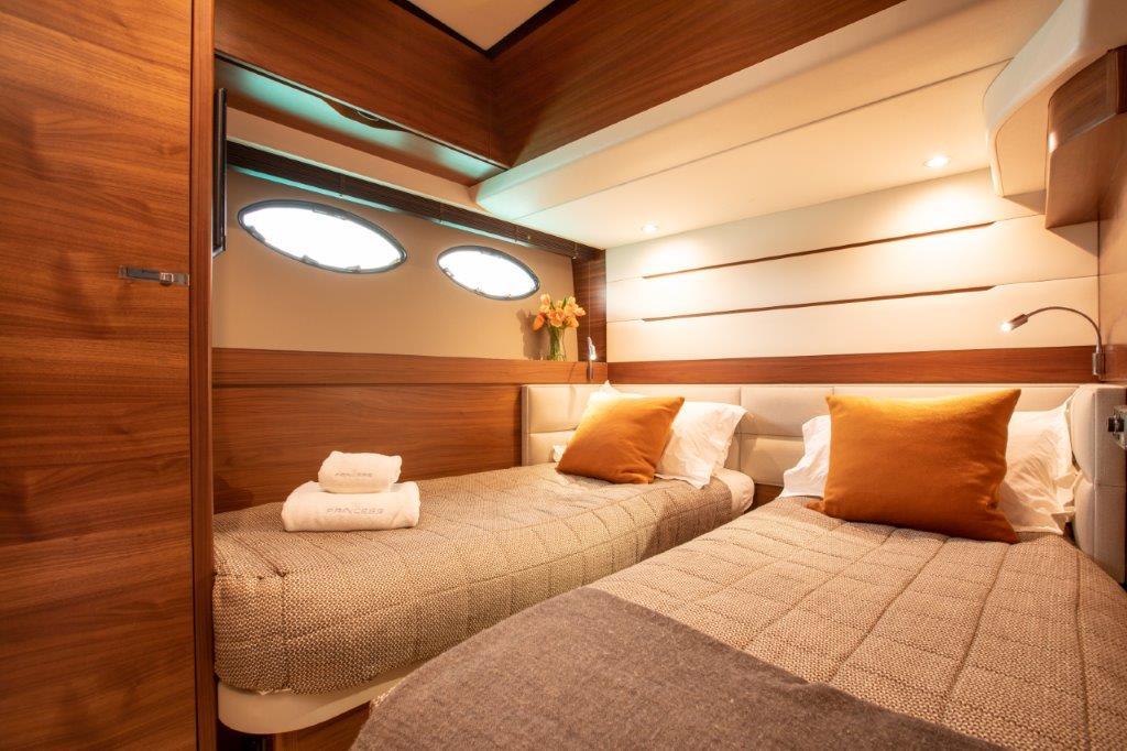 Princess 68 - twin cabin 2
