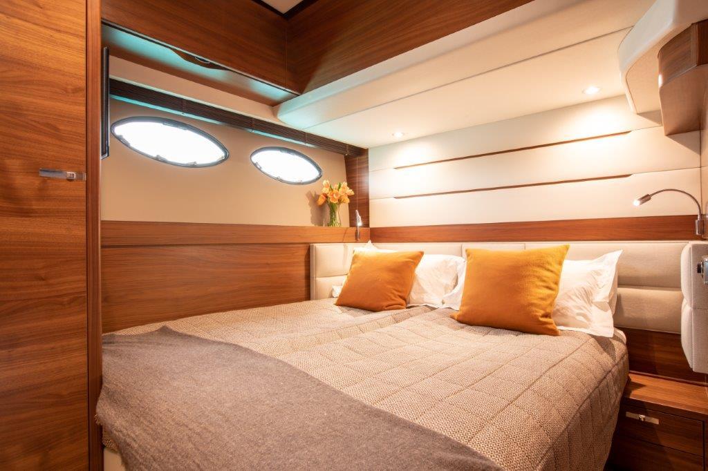 Princess 68 - twin cabin conversion