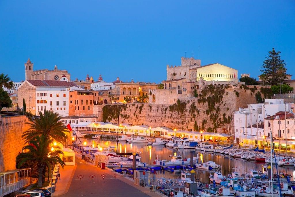 cruise Menorca