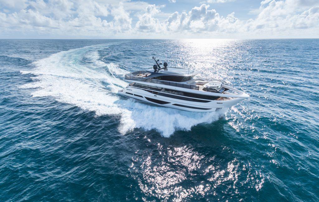 Princess X95 superyacht